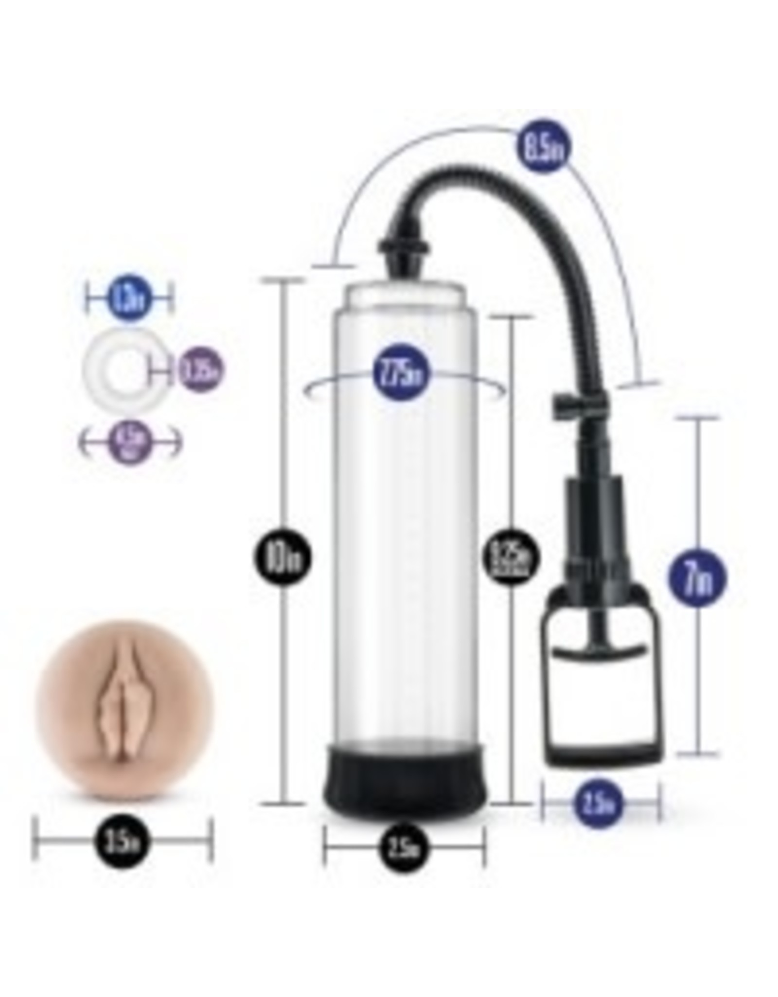 Blush Novelties Blush - Performance - VX5 - Male Enhancement Pump System