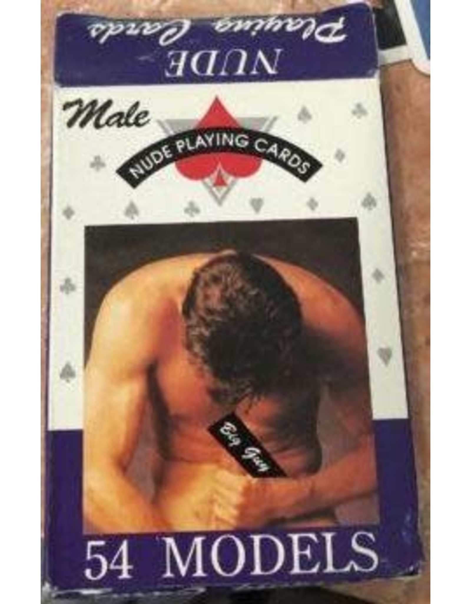 Male Nude Playing Cards