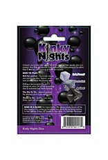Creative Conceptions Kinky Nights - Bondage Dare Dice