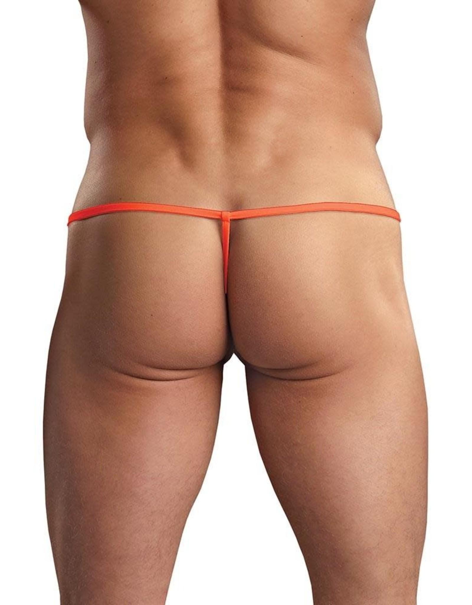 Male Power - Euro Male Pouch G-String - Orange - S/M