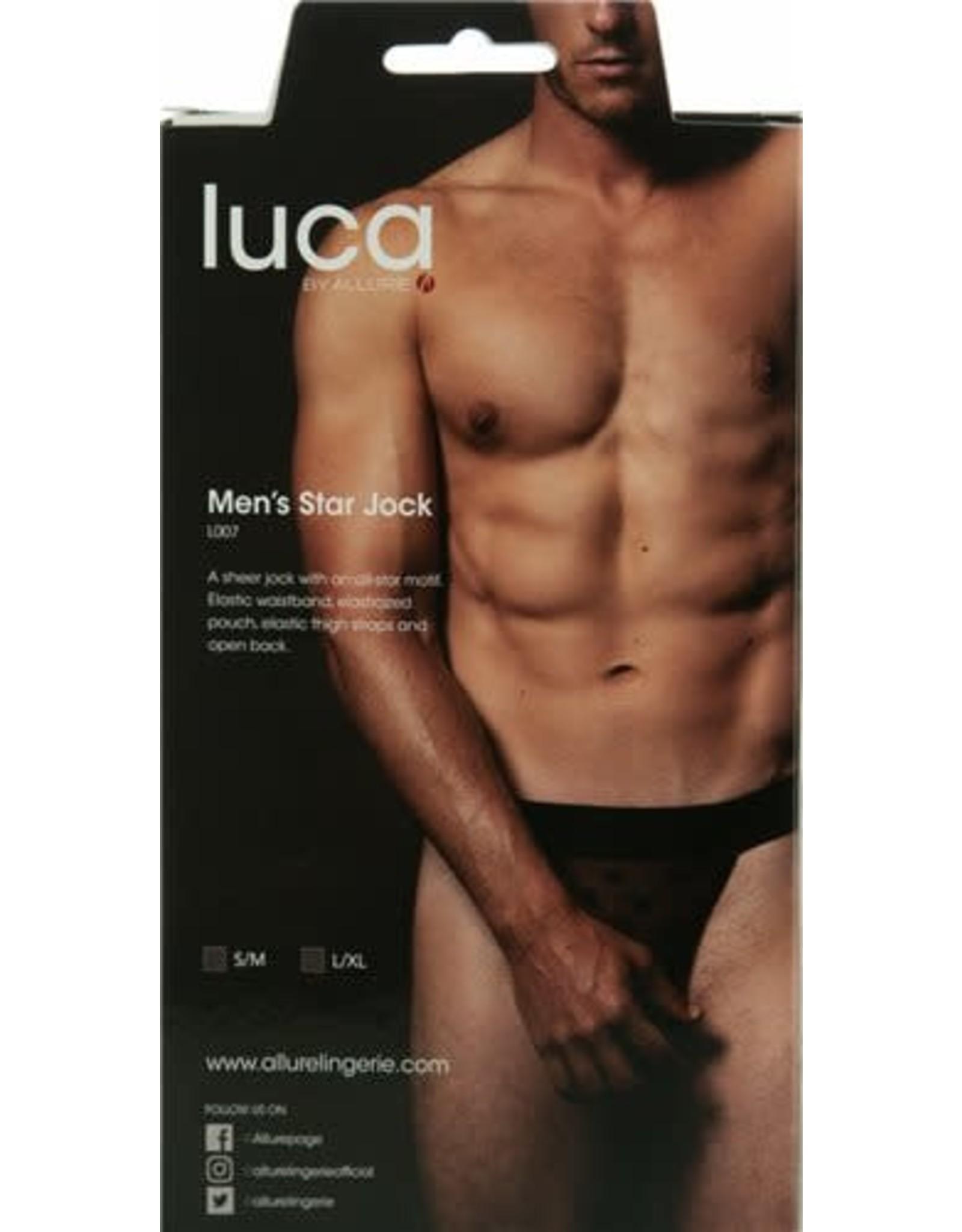 Allure Lingerie Luca By Allure  - Men's Star Jock - S/M