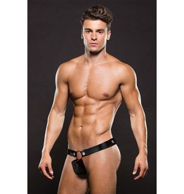 Envy Envy - European Style Hercules Thong - Black - M/L