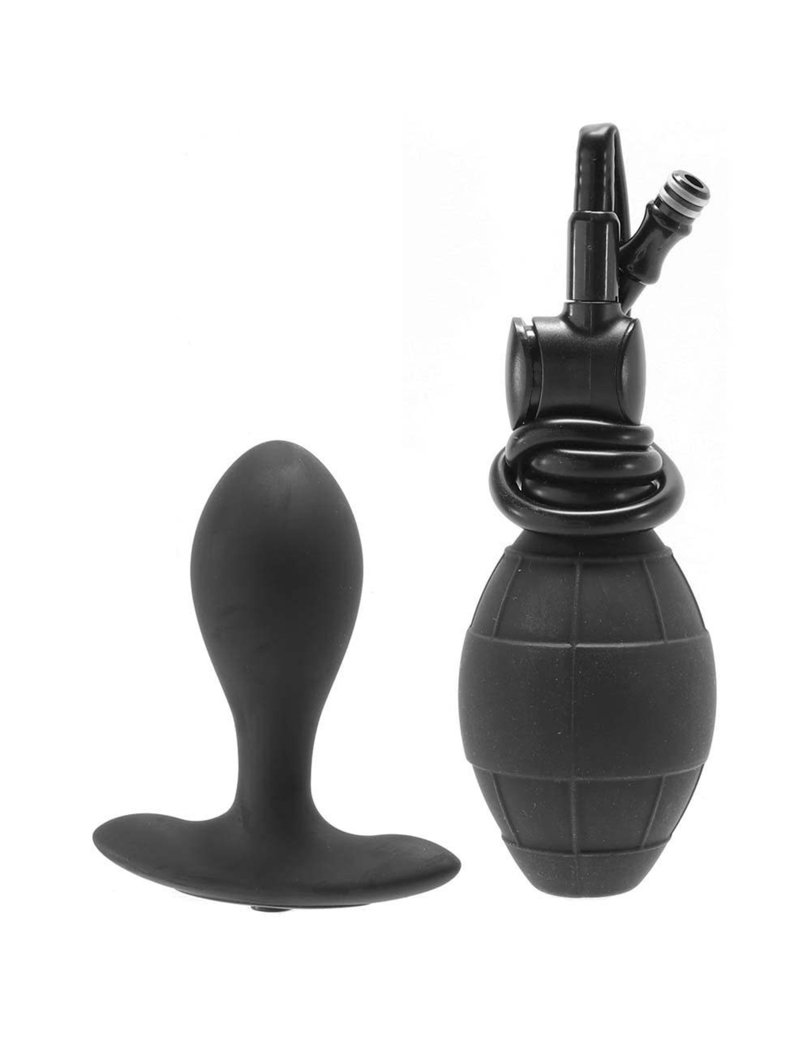 Calexotics Weighted Silicone Inflatable Plug