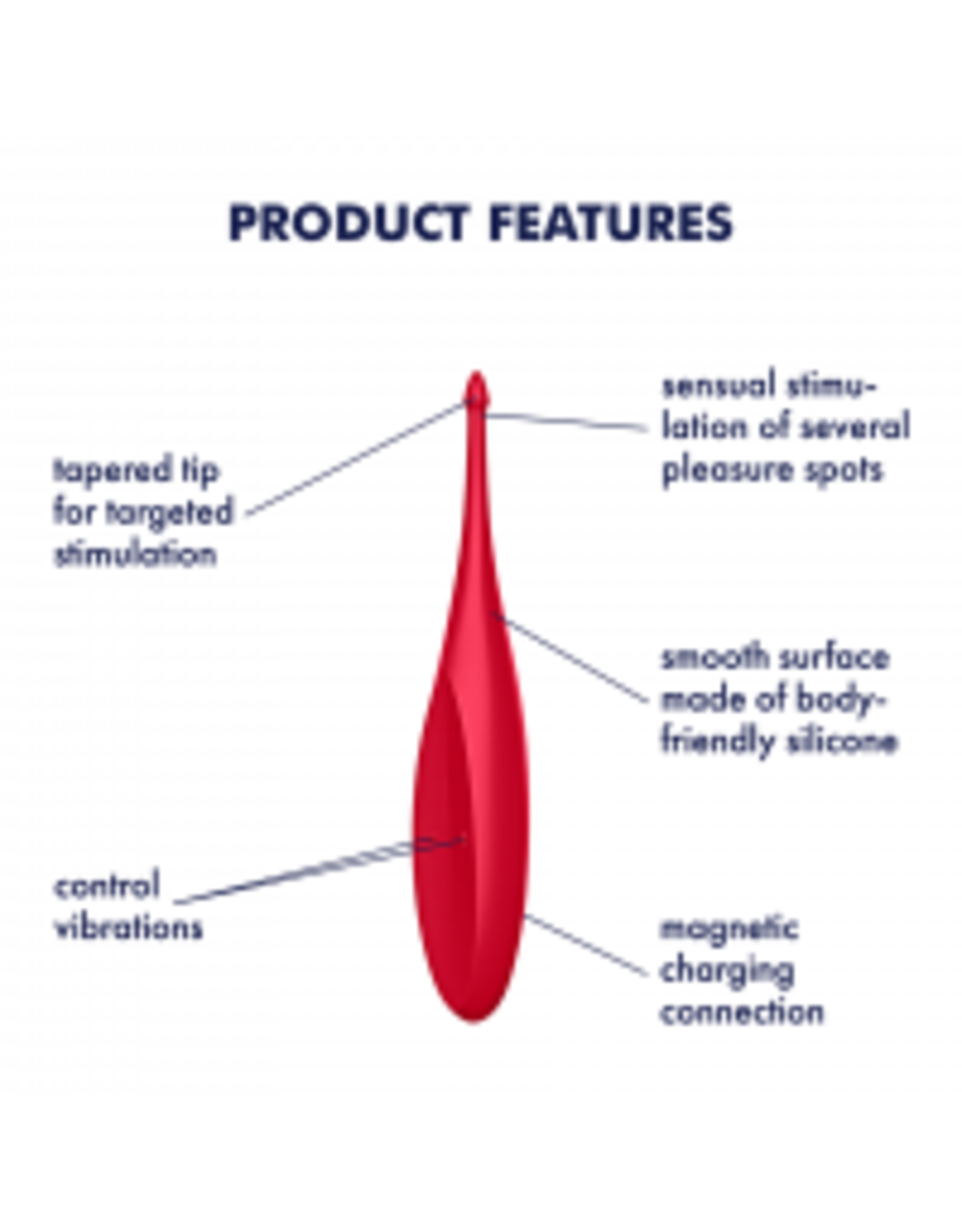 Satisfyer Satisfyer - Twirling Fun - Poppy Red