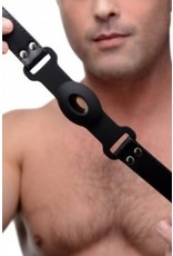 Strict - Hollow Silicone Gag