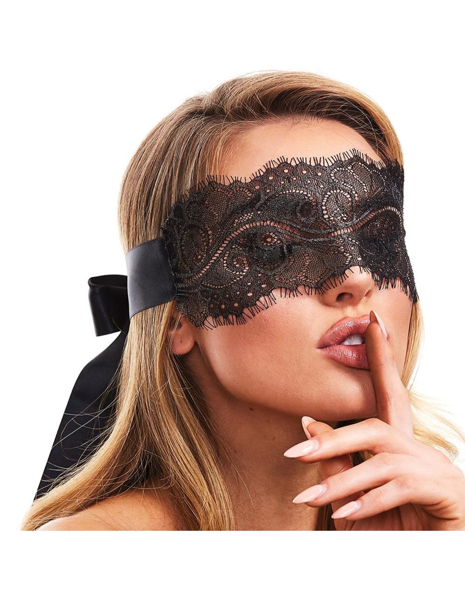 Secret Kisses - Lace Boudoir Blindfold
