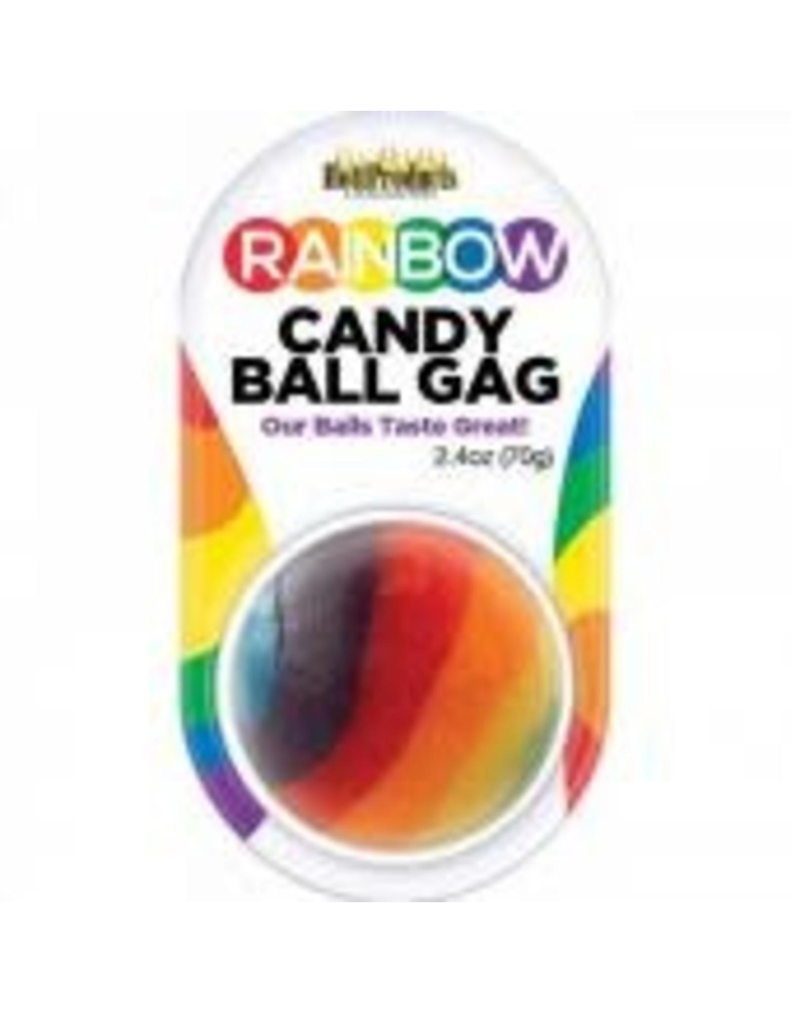 Rainbow - Candy Ball Gag