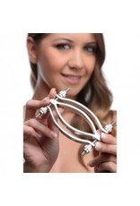 Master Series - Stainless Steel Adjustable Pussy Clamp