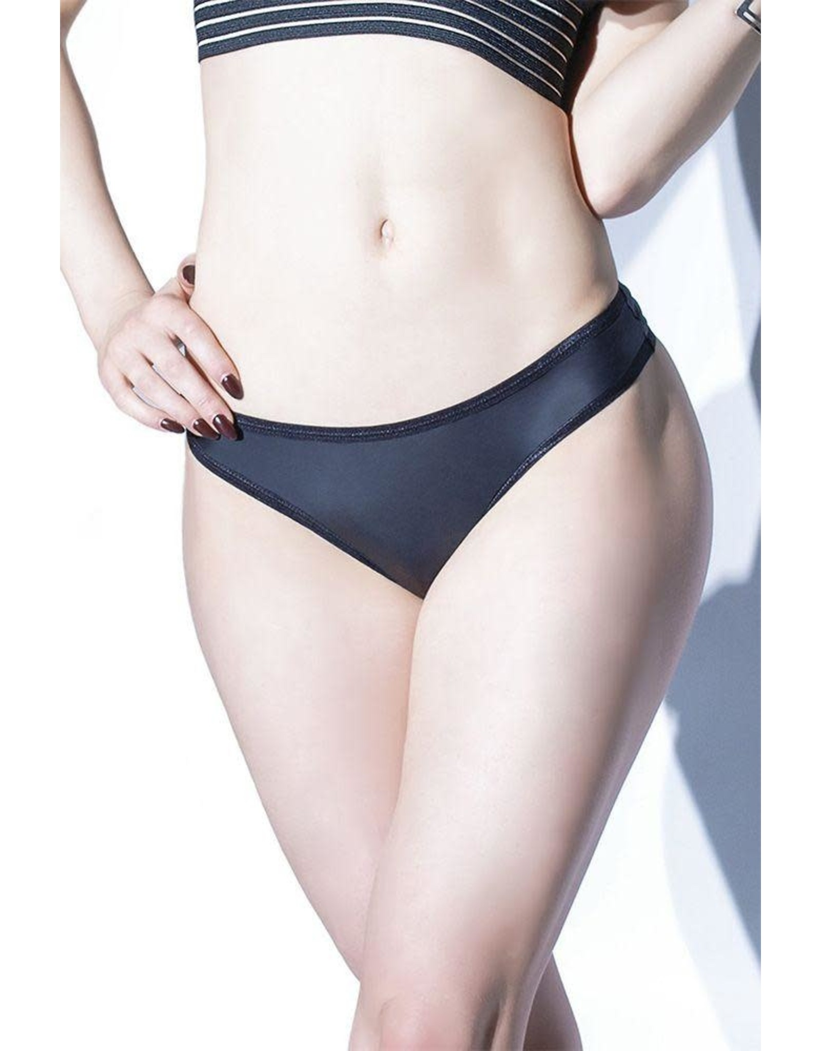Coquette Forever Matte Wetlook Thong - OS