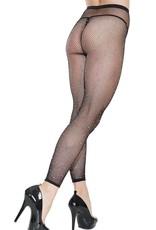 Coquette Footless Rhinestone Pantyhose - OS