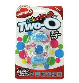 Screaming O Two O Double Pleasure Ring