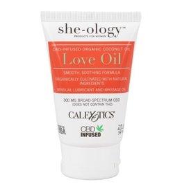 Calexotics She-o-logy CBD Infused Love Oil - 2 oz