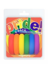Pride! 6 Pack Rings