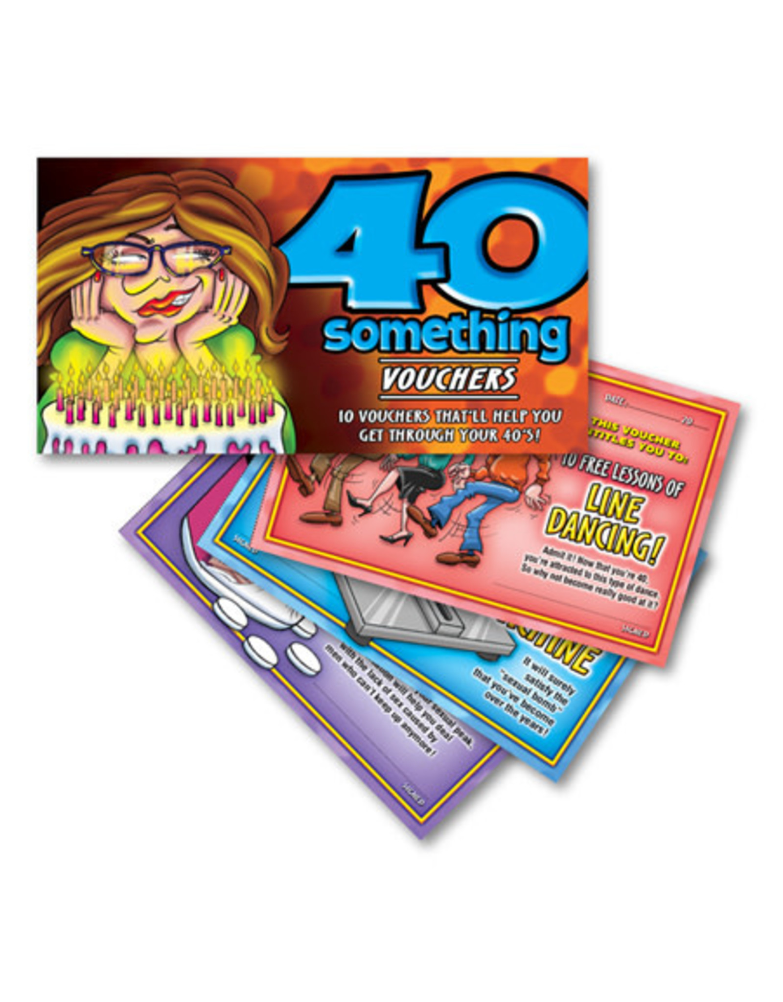 Ozze Creations 40 Something Vouchers - For Her