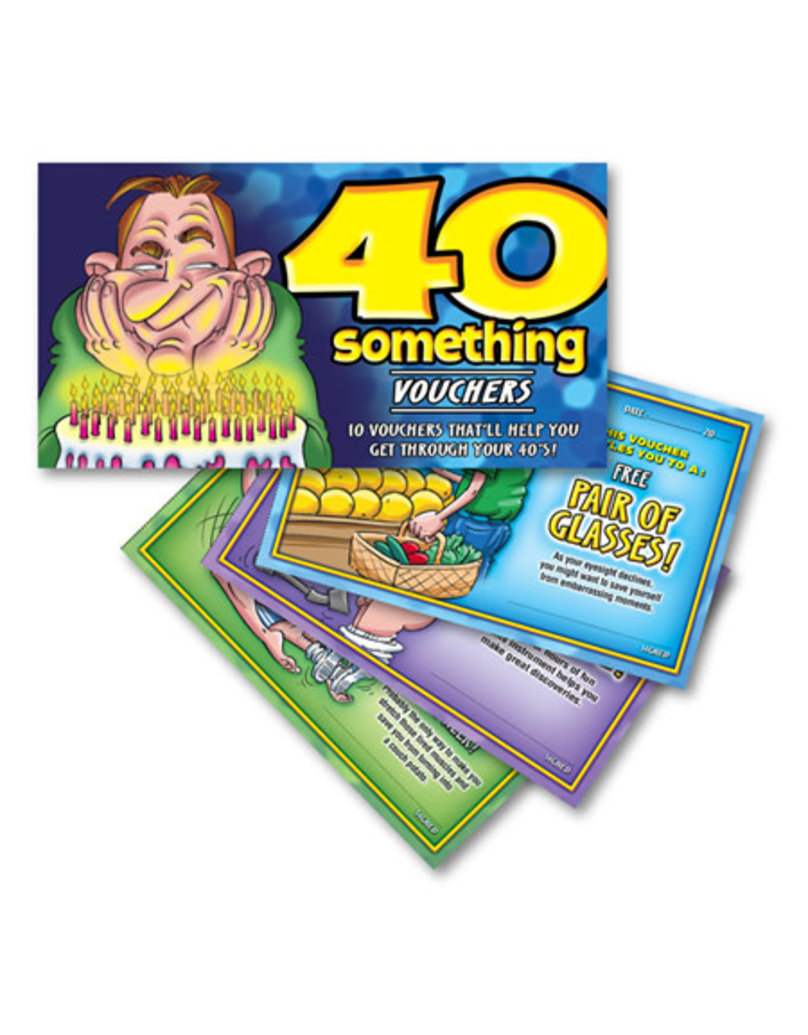 Ozze Creations 40 Something Vouchers - For Him