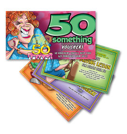 Ozze Creations 50 Something Vouchers - For Her