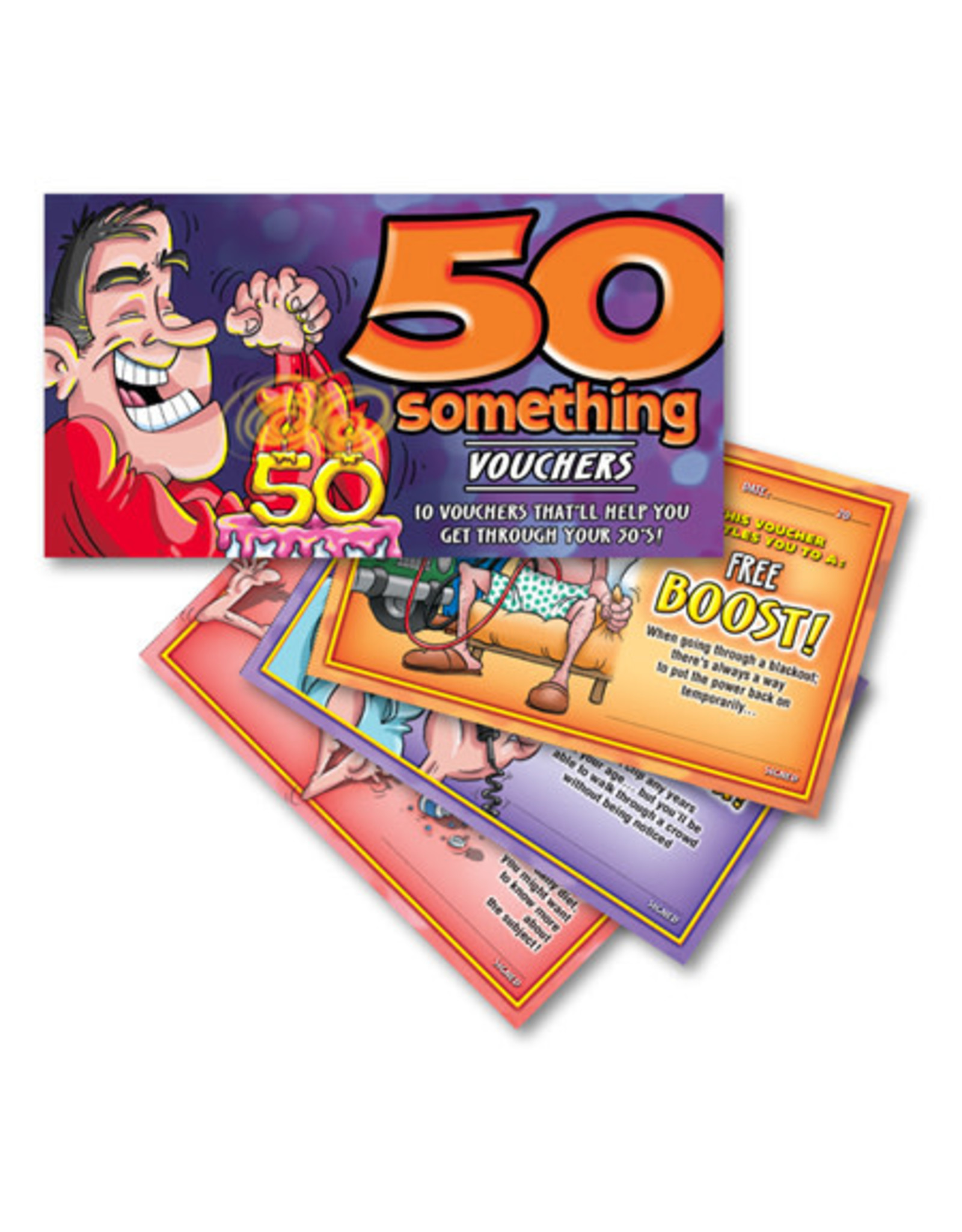 Ozze Creations 50 Something Vouchers - For Him