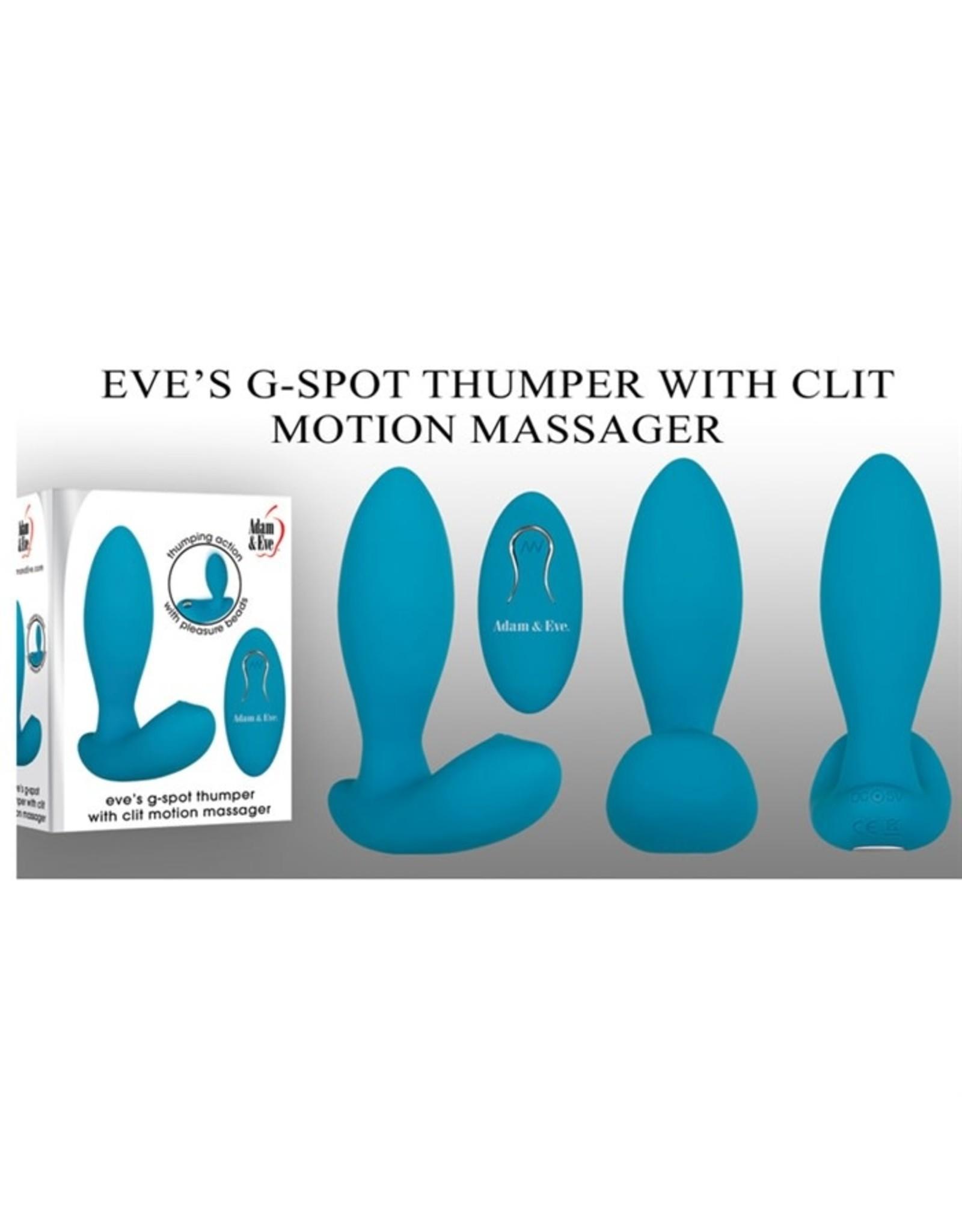 Adam & Eve Eve's G-Spot Thumper with Clit Motion Massager
