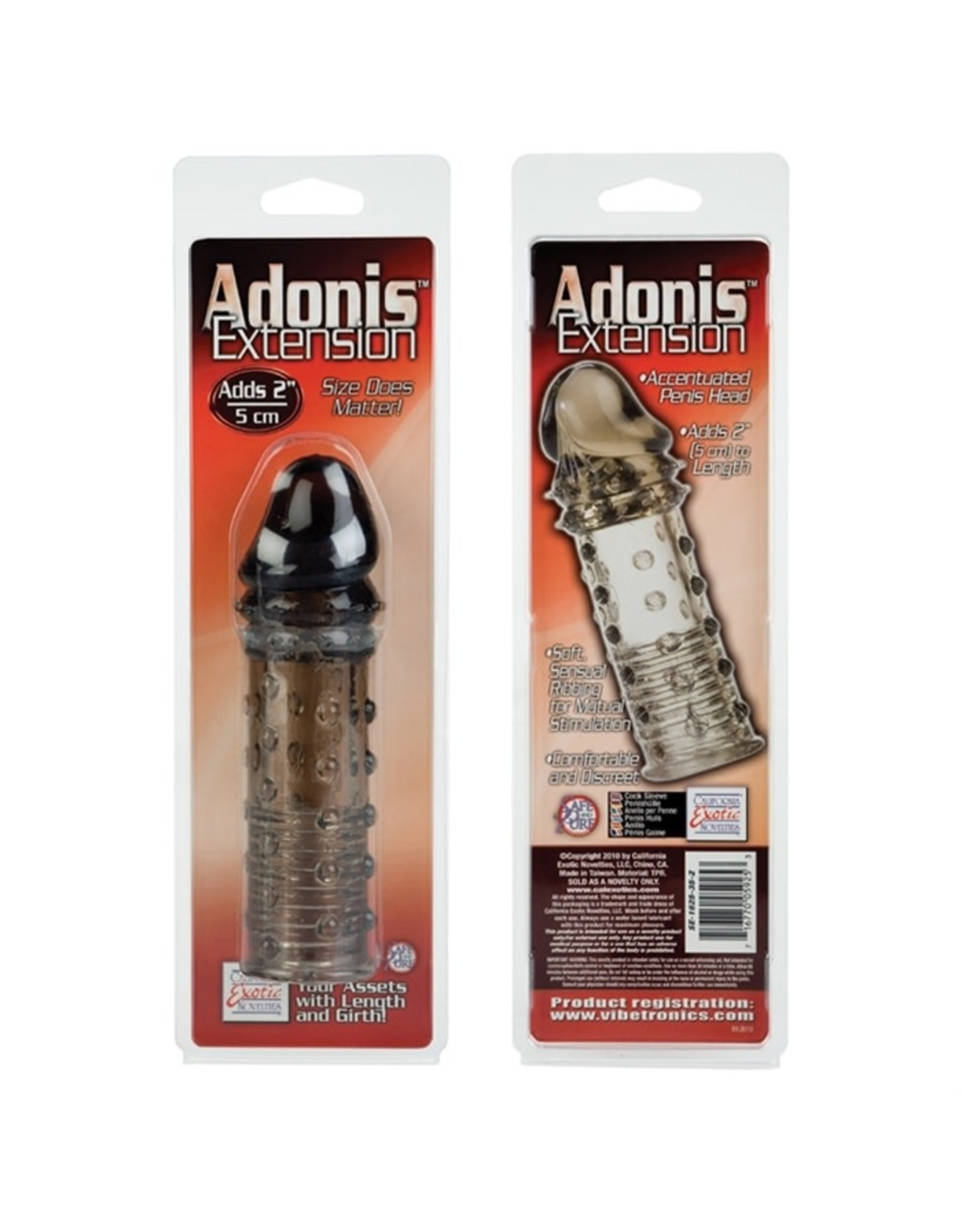 Calexotics Adonis Extension - Smoke