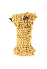 NS Novelties Bondage Couture - Satin Rope - 15.24M/50 ft - Gold