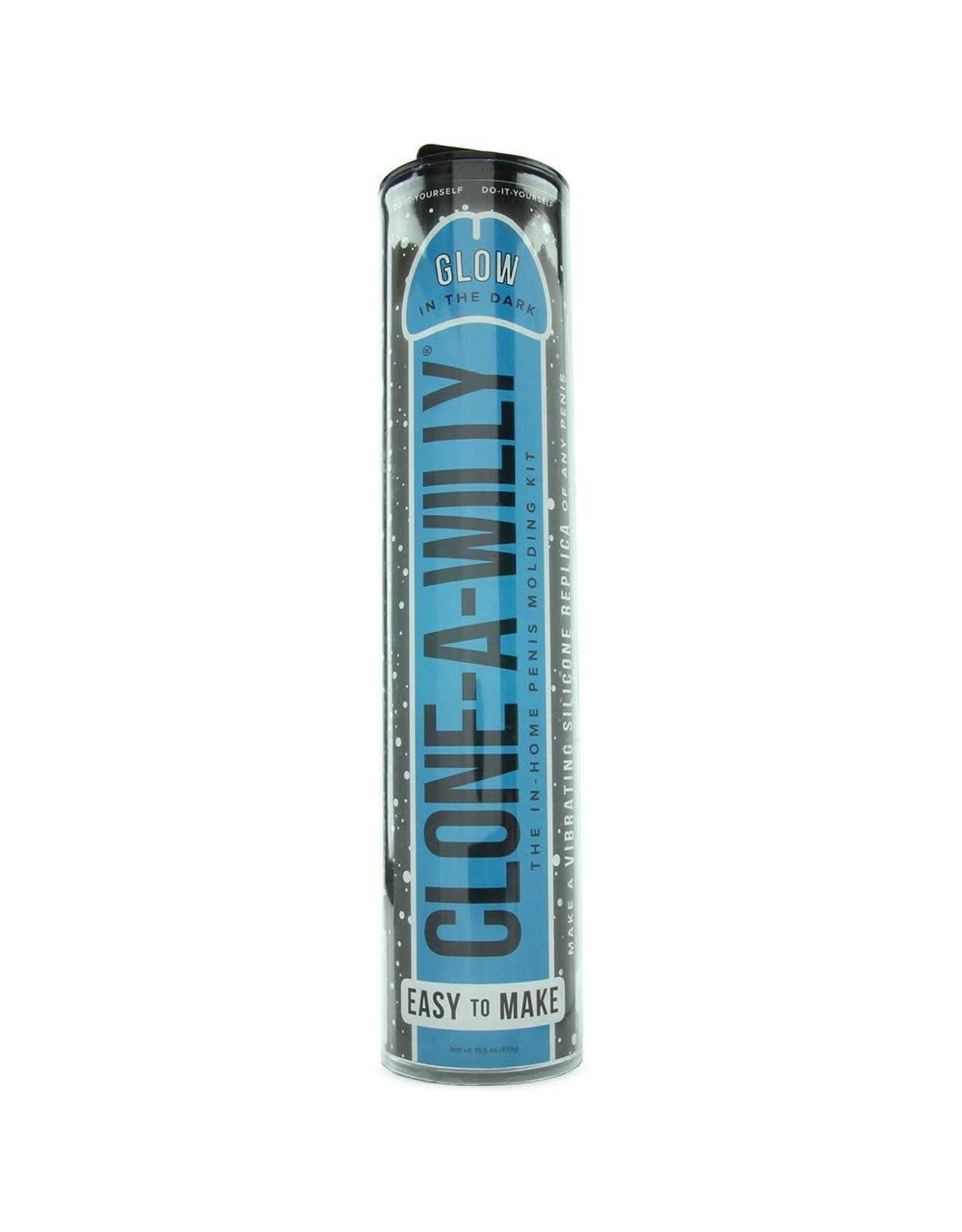 Empire Labs Clone-A-Willy - Glow in the Dark & Vibrating - Blue