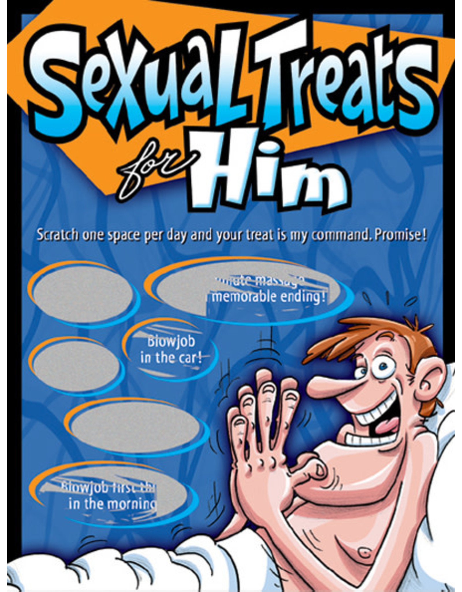 Ozze Creations Sexual Treats For Him - Sexy Scratcher