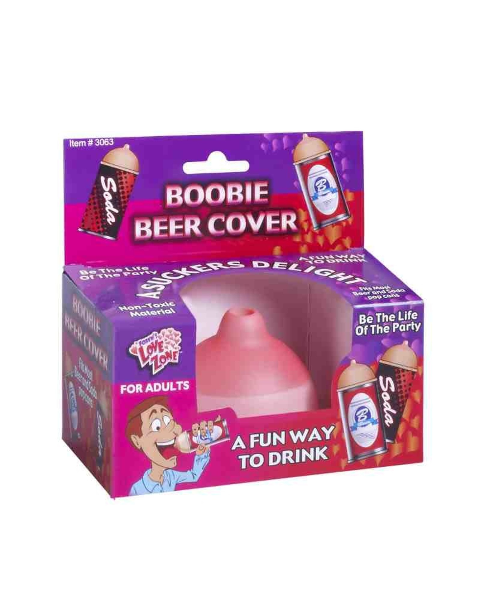 Beer Boobs - Boobie Beer Cover