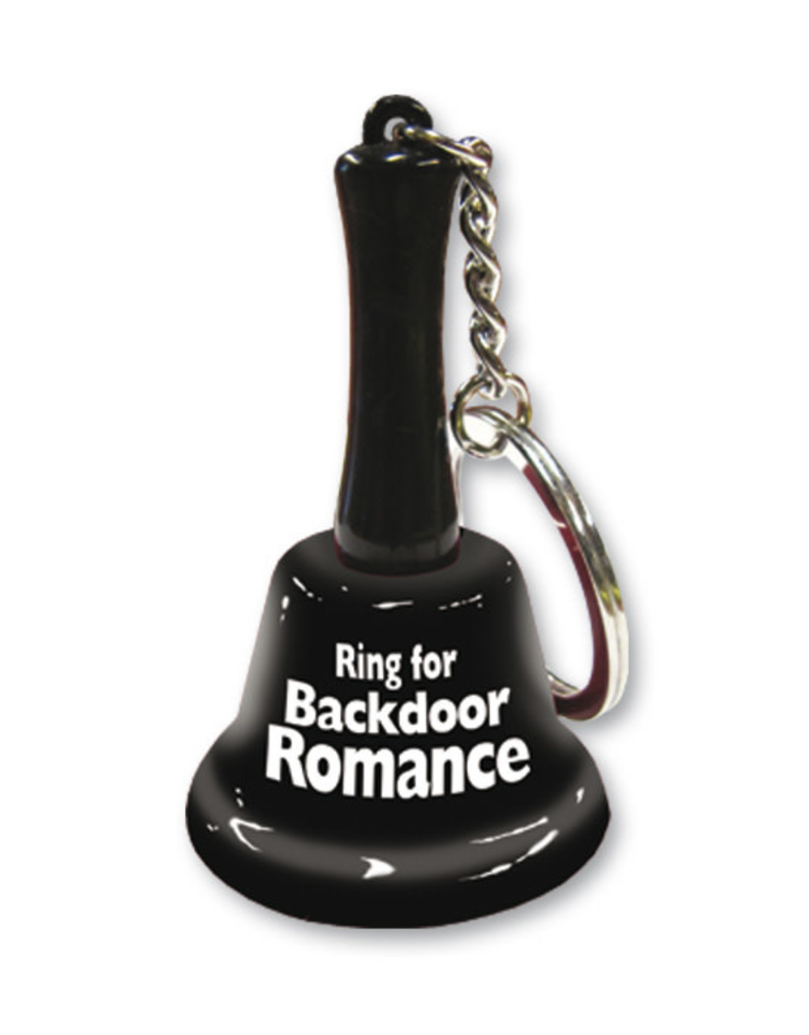 Ozze Creations Bell Keychain - Ring For Backdoor Romance