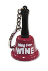 Ozze Creations Bell Keychain - Ring For Wine