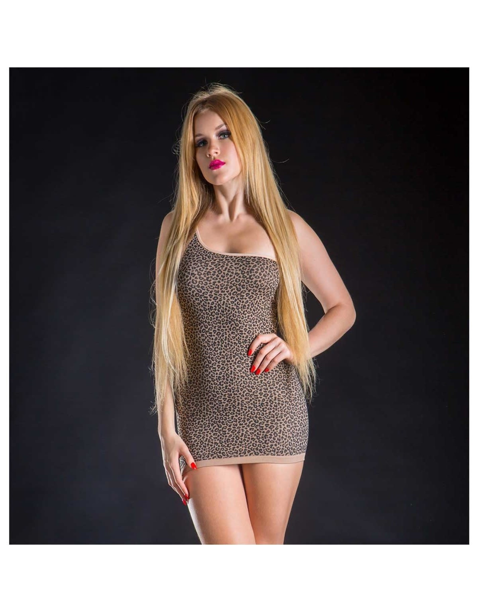 Beverly Hills - Naughty Girl Beverly Hills Naughty Girl - 2 in 1 Dress - Leopard