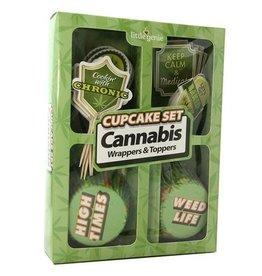Little Genie Cannabis Cupcake Set