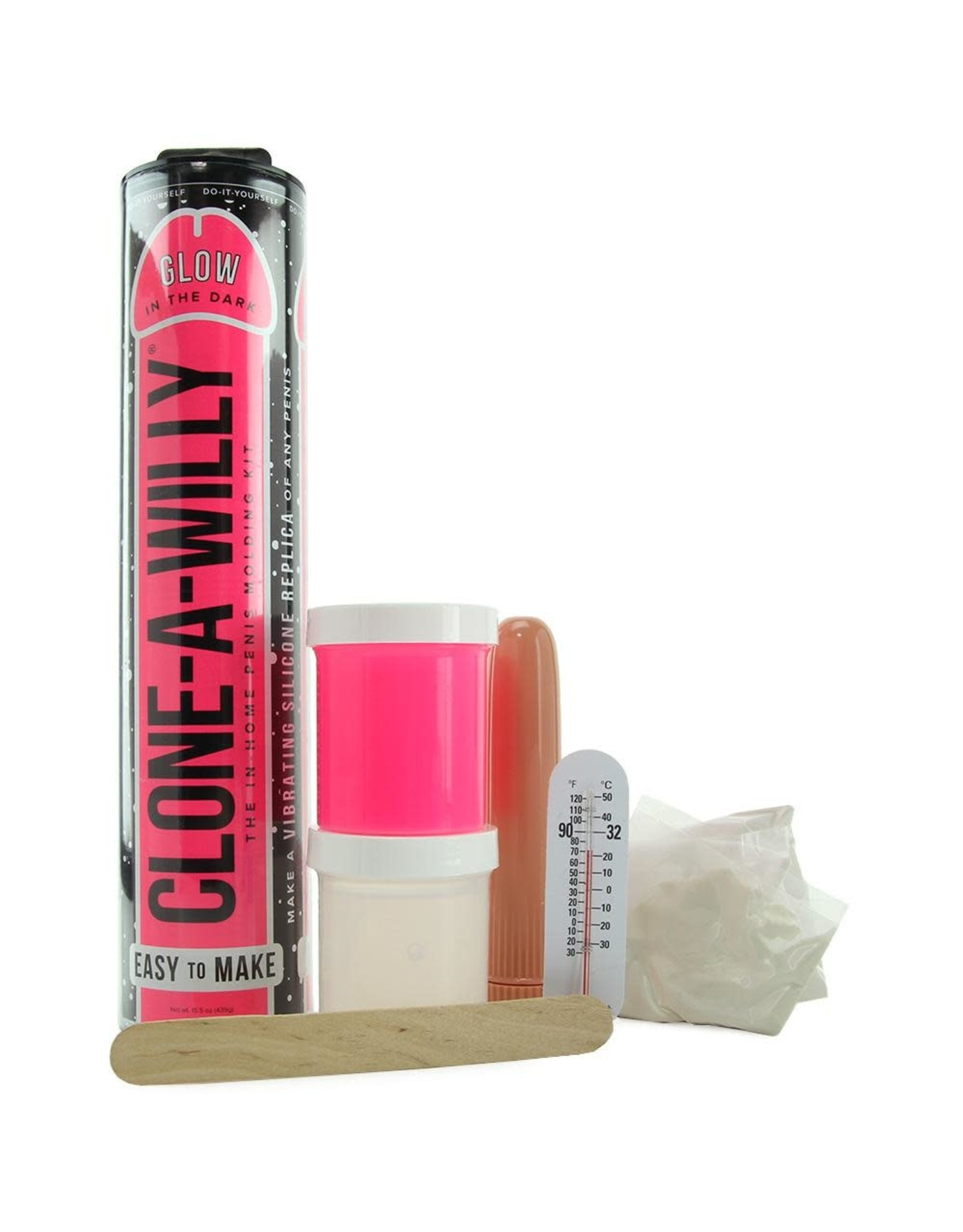 Empire Labs Clone-A-Willy - Glow in the Dark & Vibrating (Pink)
