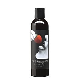 Earthly Body Earthly Body - Edible Massage Oil -Succulent Strawberry - 2oz