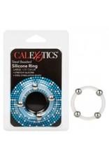 Calexotics Calexotics - Steel Beaded Silicone Ring - Large