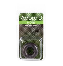 Adore U Adore u Hom - Medium Cock Ring (black)