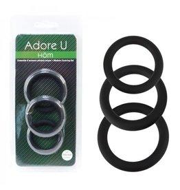 Adore U Hom - Medium Cockring Set