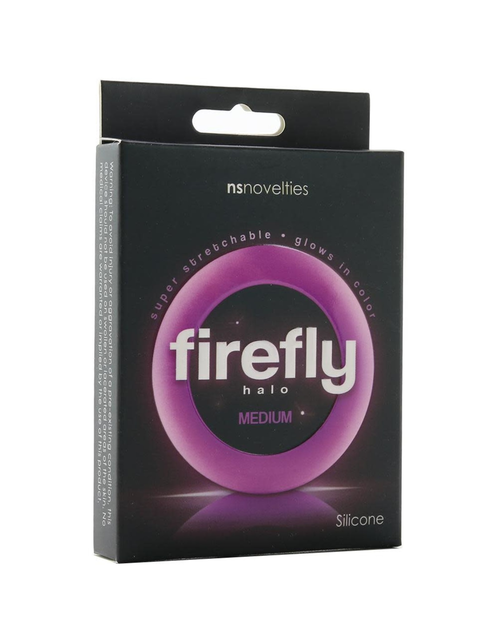 Firefly Halo - Medium Cock Ring (purple)