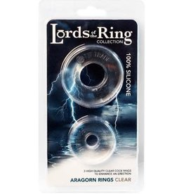 Lord of the Rings - Aragorn Rings (clear)