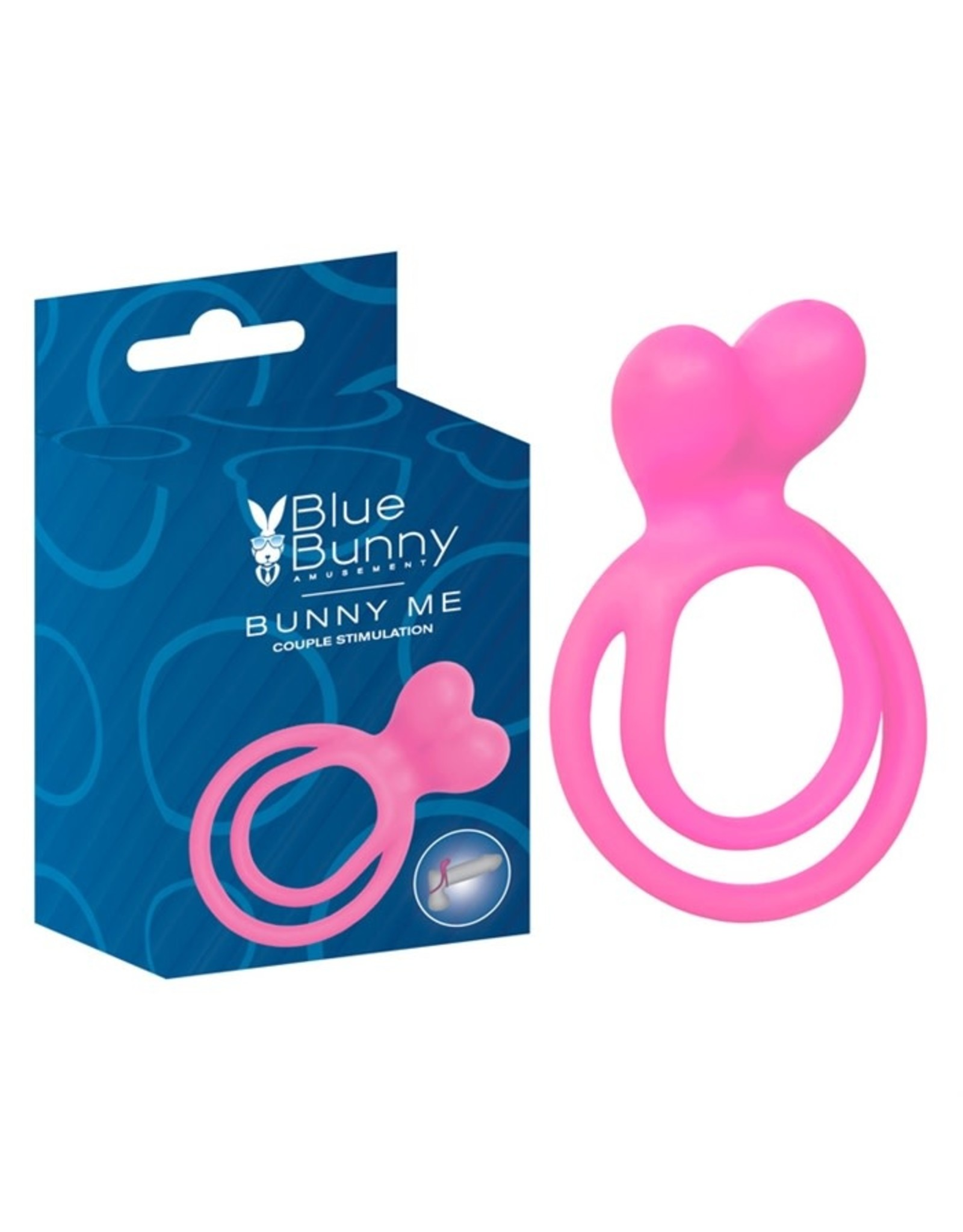 Blue Bunny Bunny Me - Couple Stimulation Cock Ring