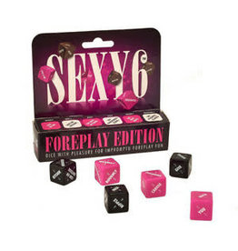 Sexy 6 - Dice Game - Foreplay Edition