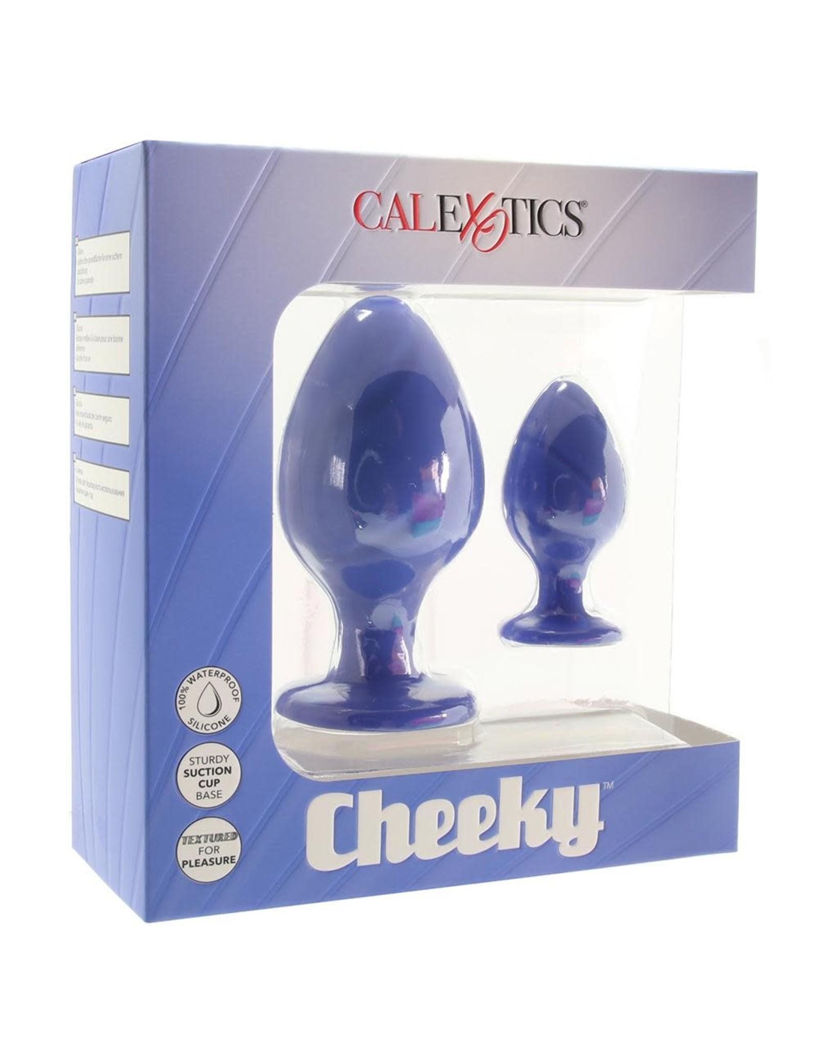 Calexotics Calexotics - Cheeky Butt Plug Set (blue)