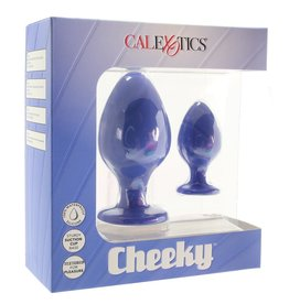 Calexotics Calexotics - Cheeky Butt Plug Set (purple)