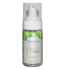 Intimate Earth - Green Foaming Toy Cleaner with Tea Tree Oil (3.4oz)