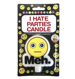 Candy Prints I Hate Parties Candle 'Meh'