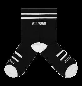 Attaquer Attaquer Socks Double Stripe Black