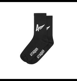 Attaquer Attaquer Socks Winged A Black