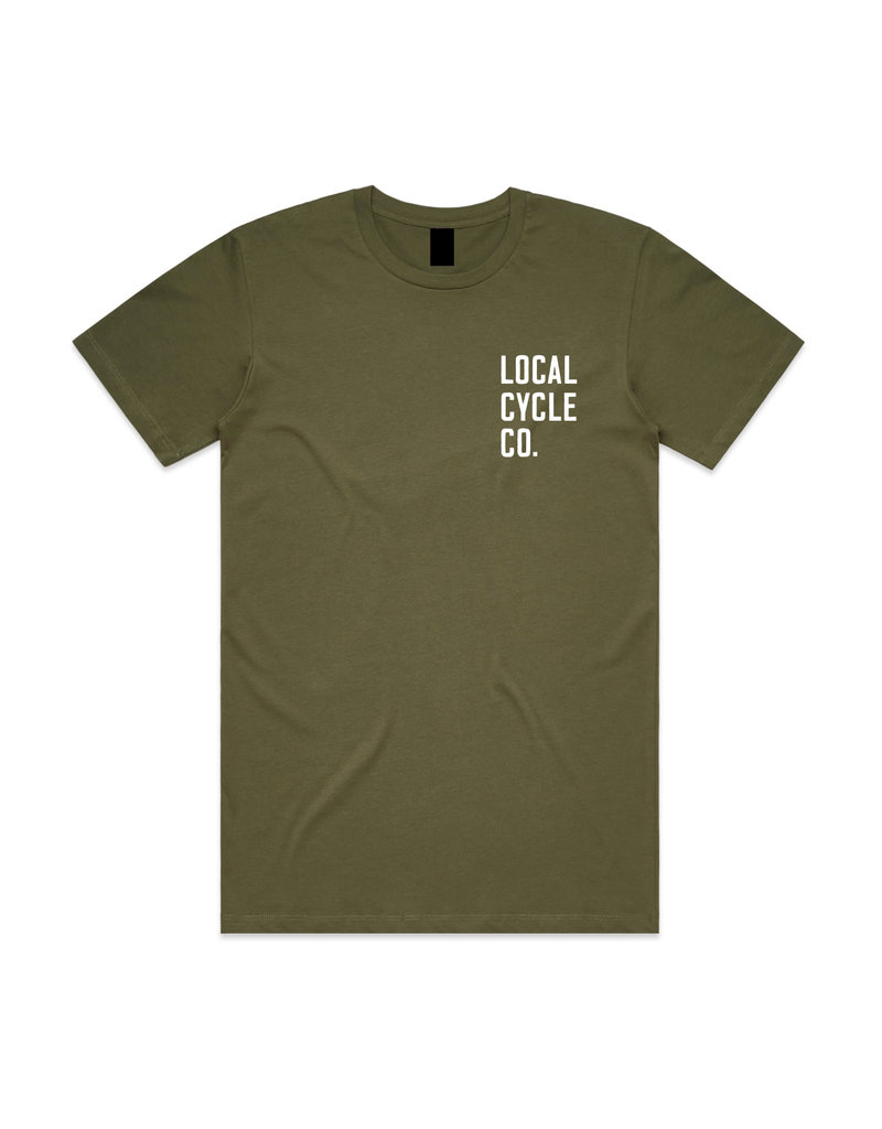 Local Cycle Co Local Cycle Co Tee SS Olive
