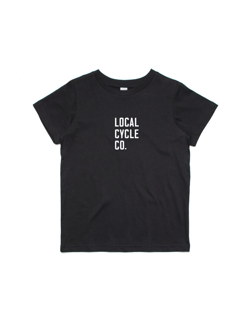Local Cycle Co Local Cycle Co Youth Tee SS Black