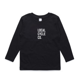 Local Cycle Co Local Cycle Co Tee Youth LS Black