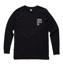 Local Cycle Co Local Cycle Co Tee LS Black